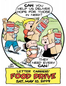 Letter Carriers Food Drive Flyer-2014