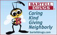 Bartell Drugs 'B' Caring Logo